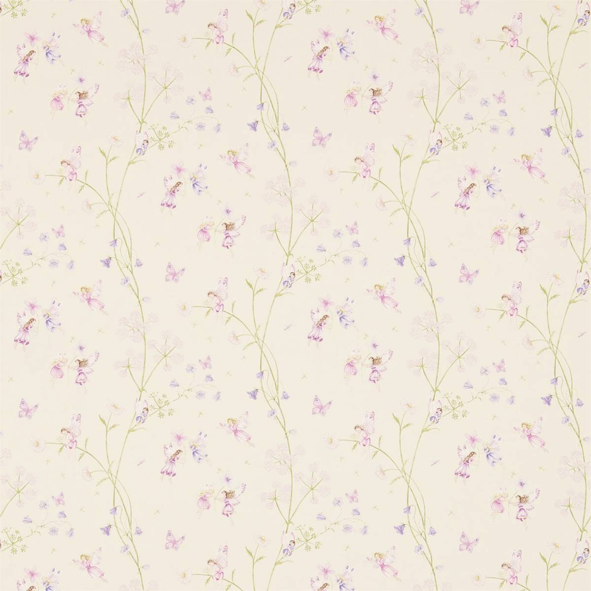 fairyland fabric calico 223922 sanderson abracazoo. Black Bedroom Furniture Sets. Home Design Ideas