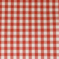 Whitby Fabric - Red/Ivory