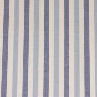 Seaton Fabric - Marine Blue/Ivory