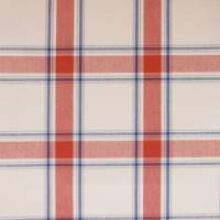 Brighton Fabric - Red/Marine
