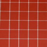 Rye Fabric - Red/Ivory