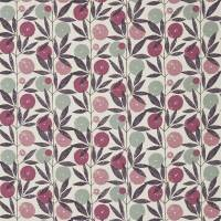 Blomma Fabric - Heather/Damson/Stone