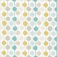 Taimi Fabric - Seaglass/Chalk/Honey