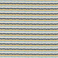 Hetsa Fabric - Almond/Cobalt/Midnight