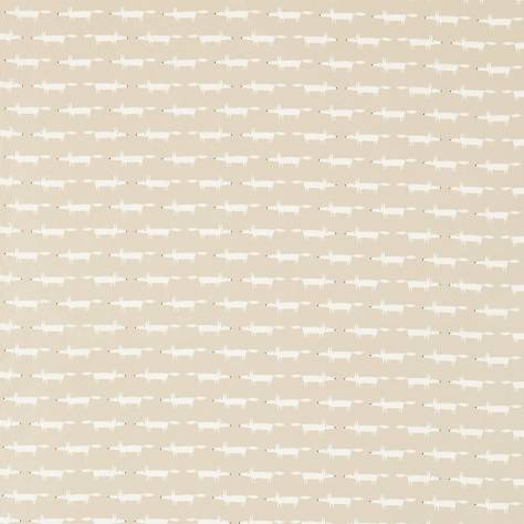 Scion Guess Who? Fabrics Little Fox Fabric - Snow - 120463