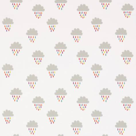 Scion Guess Who? Fabrics April Showers Fabric - Poppy/Tangerine/Sunshine - 131659