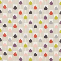 Sula Fabric - Spice/Rose/Graphite