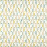 Barnie Owl Fabric - Blush/Honey/Raffia