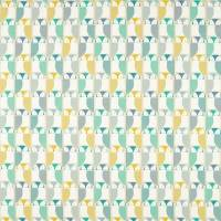 Barnie Owl Fabric - Jade/Sunshine/Forest