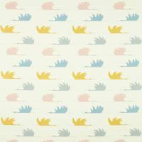 Colin Crane Fabric - Blush/Honey/Slate