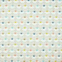 Eloisa Fabric - Pink Grapefruit/Sunshine/Denim