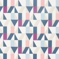 Nuevo Fabric - Grape/Blush/Indigo