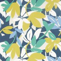 Baja Fabric - Forest/Citrus/Electric Blue