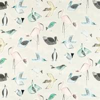 Menagerie Fabric - Blush / Mint