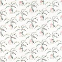 Crassula Fabric - Blush / Brick / Mist