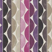 Yoki Fabric - Berry/Plum/Sand