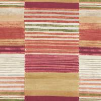 Medini Fabric - Terracotta/Pumpkin/Moss