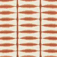 Shibori Fabric - Chilli/Linen