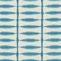 Shibori Fabric - Teal/Linen