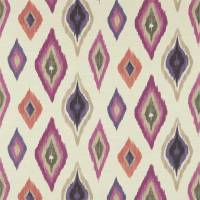 Amala Fabric - Berry/Sand/Grape