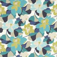 Diva Fabric - Acid/Jasmine/Kingfisher