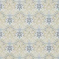 Artichoke Embroidery Fabric - Soft Gold/Cream