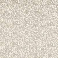 Pure Willow Bough Embroidery Fabric - Flax
