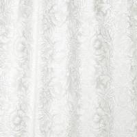 Pure Poppy Embroidery Fabric - Paper White