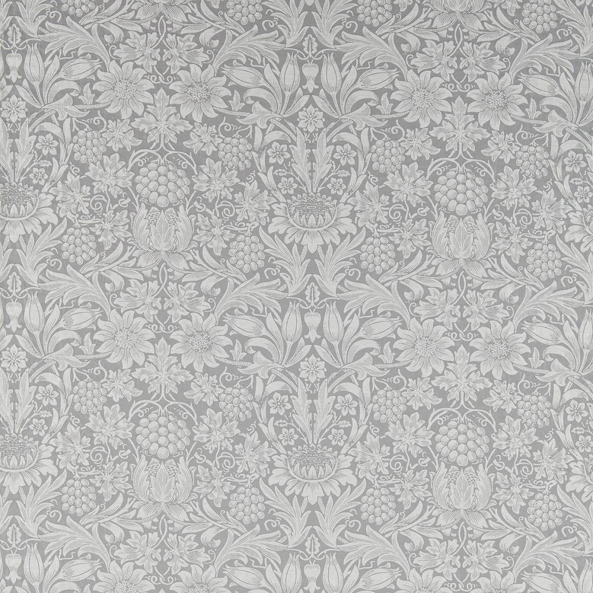 7eaaeb0dfc63 William Morris & Co Pure Morris Fabrics Pure Sunflower Fabric - Dove -  236167. Loading zoom