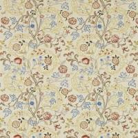 Mary Isobel Fabric - Russet/Olive