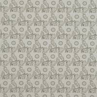 Janes Daisy Fabric - Chalk/Thyme