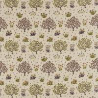 Orchard Fabric - Mulberry/Olive