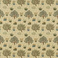 Orchard Fabric - Olive/Gold