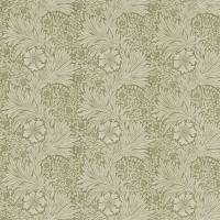 Marigold Fabric - Olive/Linen