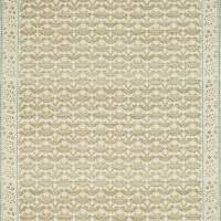 Morris Bellflowers Fabric - Fennel/Grey