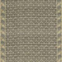Morris Bellflowers Fabric - Charcoal/Olive
