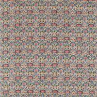 Little Chintz Fabric - Indigo/Carmine