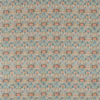 Little Chintz Fabric - Teal/Saffron