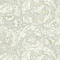 Pure Batchelors Button Print Fabric - Horned Poppy Grey