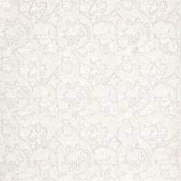 Pure Batchelors Button Embroidery Fabric - Grey Blue