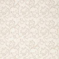 Pure Batchelors Button Embroidery Fabric - Flax