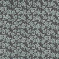 Pure Bramble Embroidery Fabric - Inky Purple