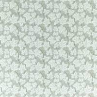 Pure Bramble Embroidery Fabric - Lightish Grey