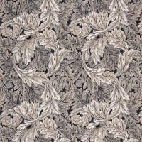 Pure Acanthus Weave Fabric - Black Ink