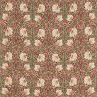 Pimpernel Fabric - Red / Thyme