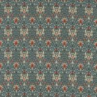 Snakeshead Fabric - Thistle / Russet