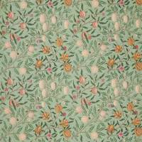 Fruit Velvet Fabric - Privet / Thyme