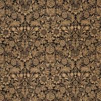 Sunflower Velvet Fabric - Maple / Lichen