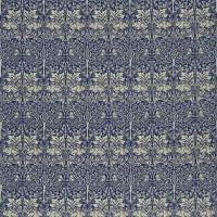Brer Rabbit Fabric - Indigo/Vellum