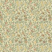 Fruit Minor Fabric - Ivory/Teal
